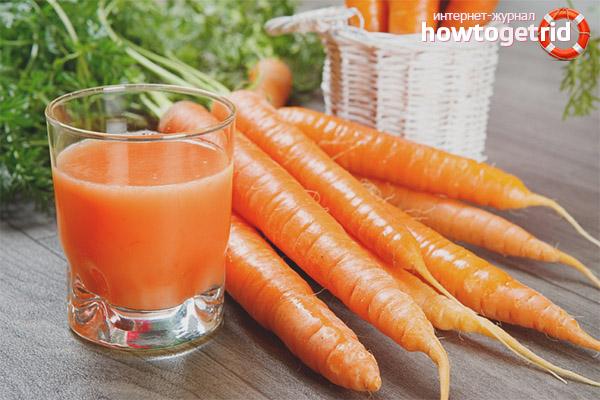 Полезные свойства и противопоказания морковного сока
