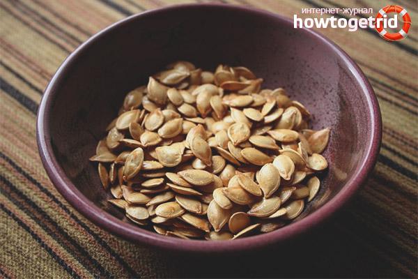 Польза семян кабачка