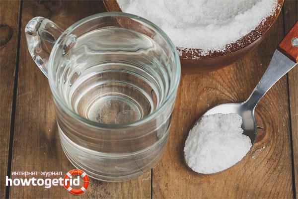 Поваренная соль для очищения воды