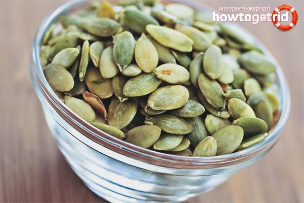 Семена тыквы для женщин