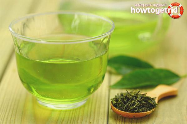 Зелёный чай для худеющих