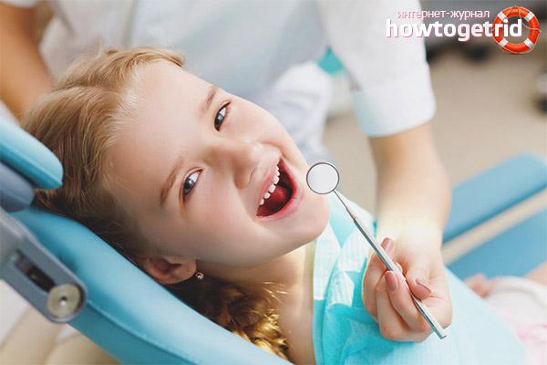 Диагностика черного налета на зубах