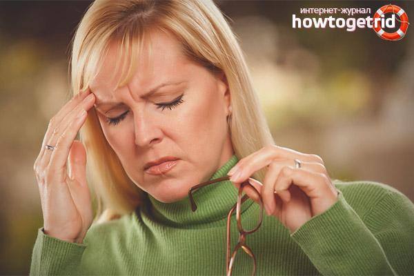 Как избавиться от головокружения при климаксе