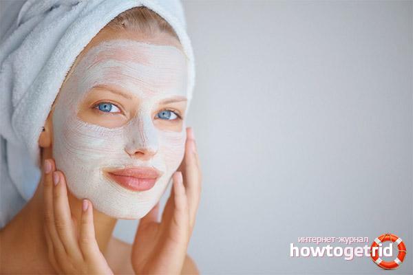 Как избавиться от морщин на лбу с помощью домашних масок