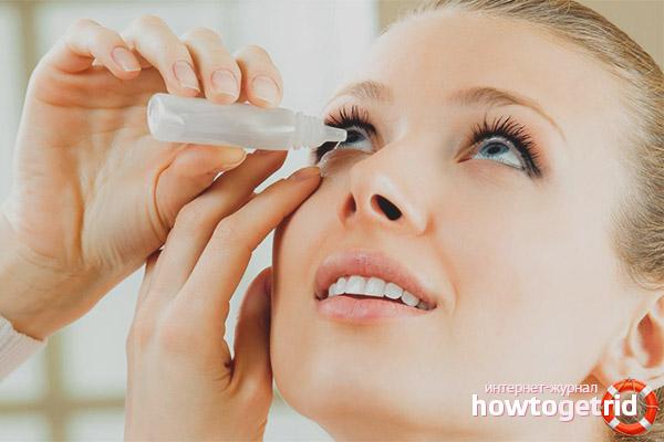 Как лечить лопнувший сосуд в глазу