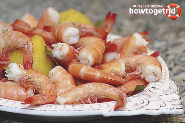 Как правильно выбрать и безопасно приготовить креветки?