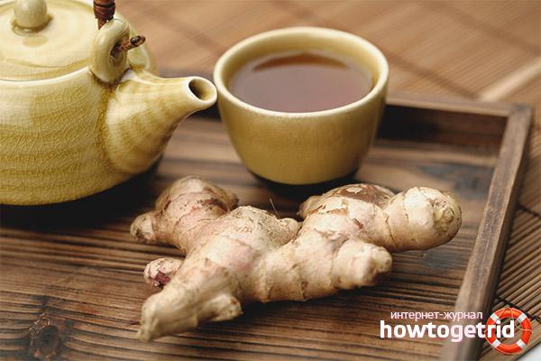 Как приготовить чай из имбиря для беременных