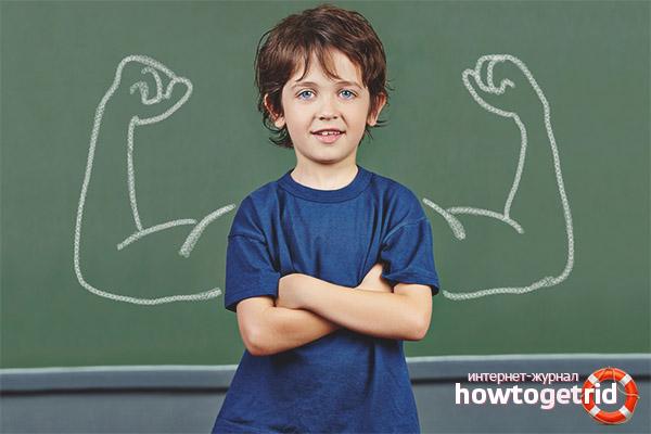 Как развить стержень в ребенке
