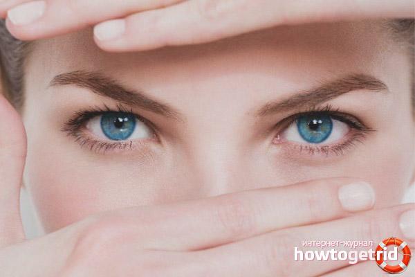 Как ухаживать за глазами