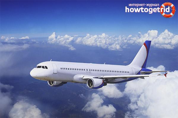 Конструктивные особенности самолётов