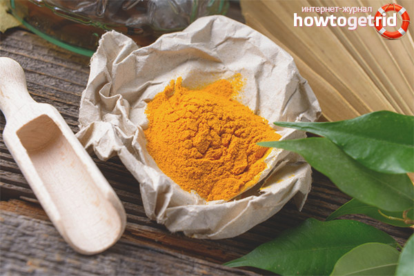Куркума как лечебное средство от различных болезней