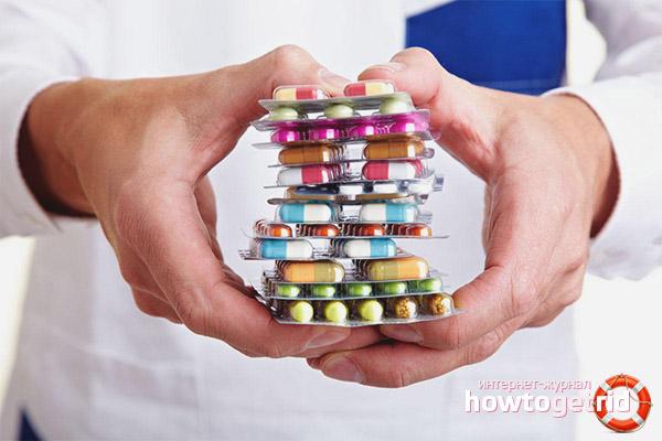 Медикаментозная терапия от недержания мочи
