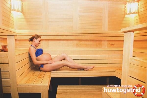 Можно ли ходить в баню при беременности