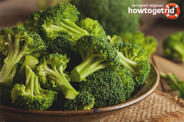Норма потребления капусты брокколи в сутки