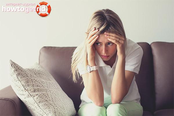 Основные симптомы депрессии