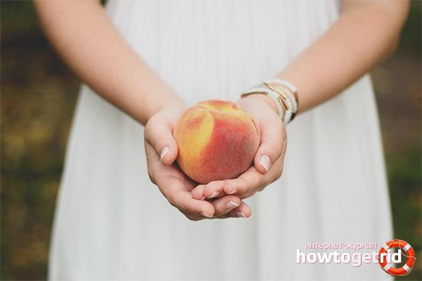 Персики при беременности