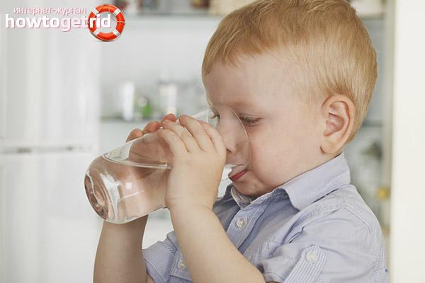 Пить воду во время рвоты