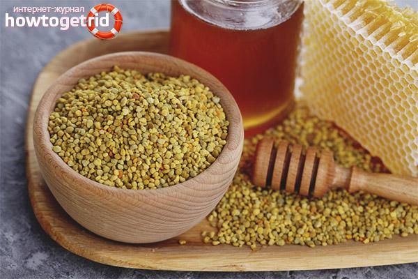 Полезные свойства и противопоказания пчелиной пыльцы
