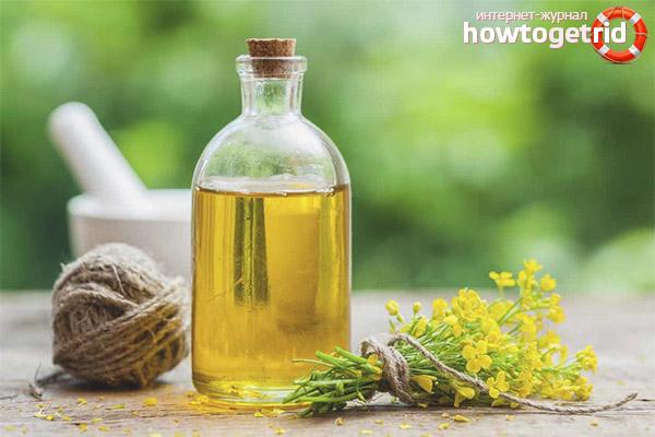 Полезные свойства и противопоказания рыжикового масла