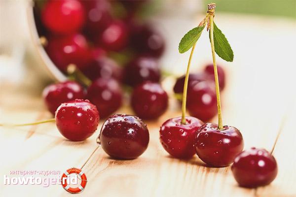 Полезные свойства и противопоказания вишни
