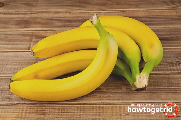 Противопоказания бананов