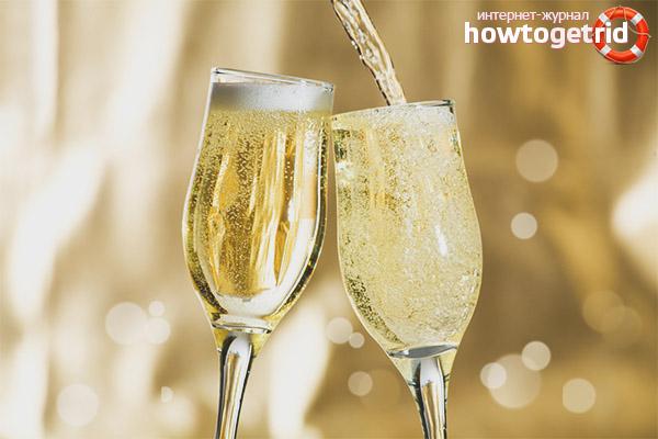 Противопоказания к приёму шампанского для беременных