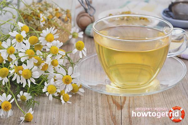 Ромашковый чай при беременности