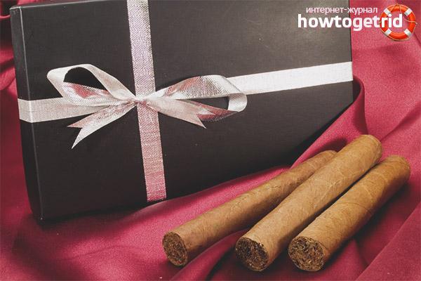 Сигары в подарок отцу