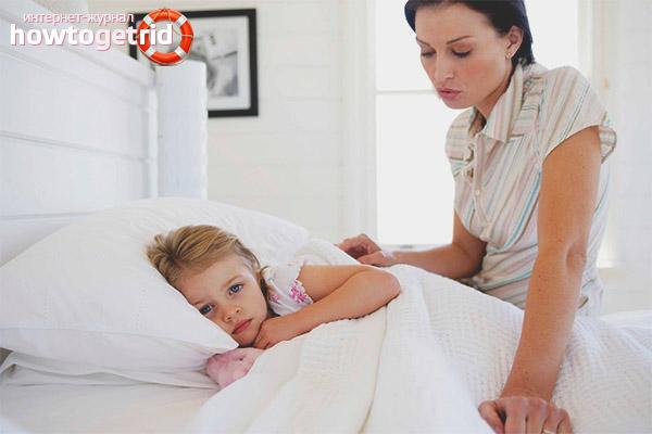 Уход за больным герпесной ангиной ребенком