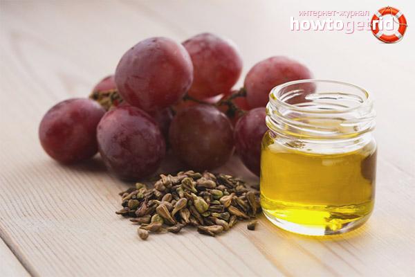 Виноградное масло для питания кожи