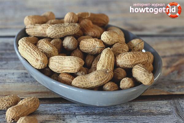 Вред арахиса при беременности