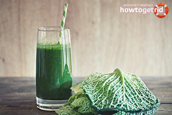 Вред и противопоказания капустного сока