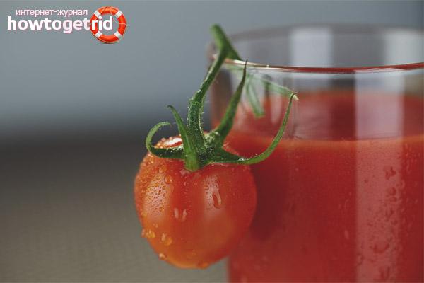 Вред томатного сока при беременности