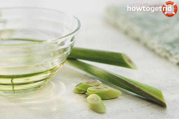 Использования масла лемонграсса в уходе за кожей