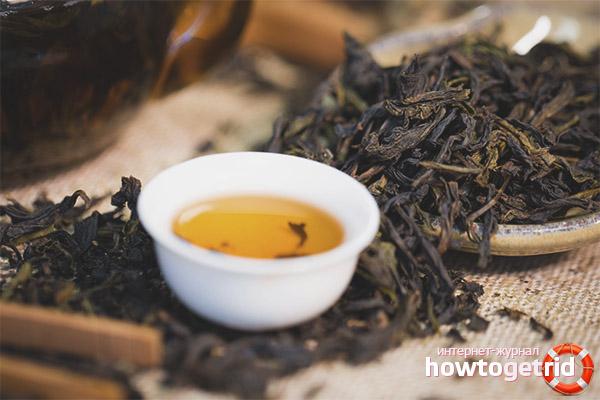 Как правильно заваривать Да Хун Пао чай
