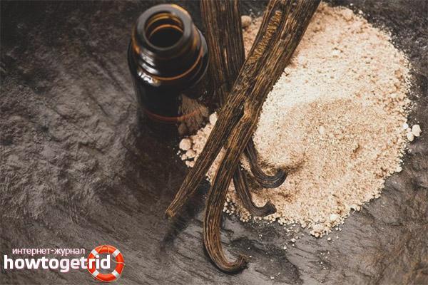 Как применять масло ванили