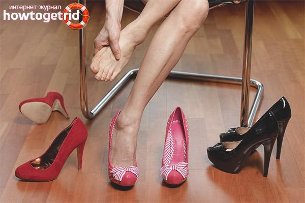 Как разносить обувь которая жмет в пальцах
