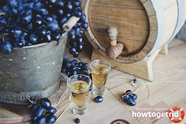Как сделать чачу из винограда