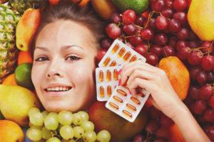 Какие витамины полезны для кожи лица
