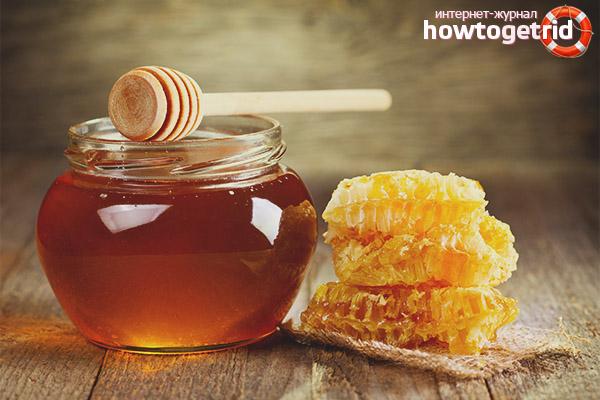 Лечение гастрита мёдом
