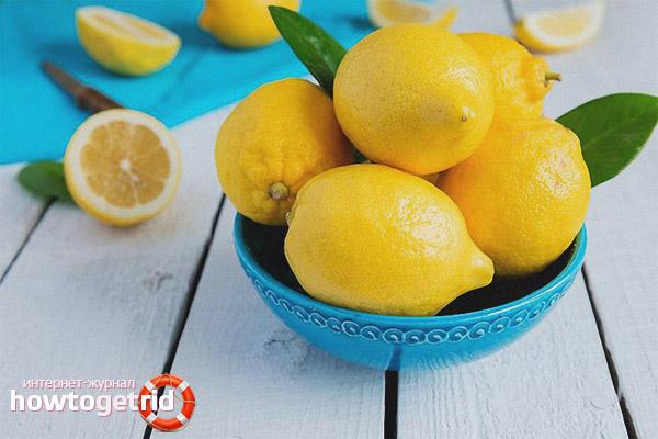 Лимон при заболеваниях внутренних органов