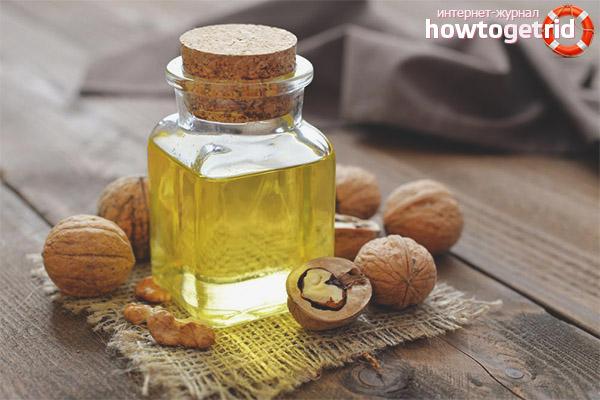 Масло грецкого ореха для лица