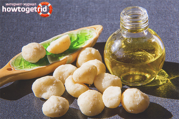 Масло макадамии для лица