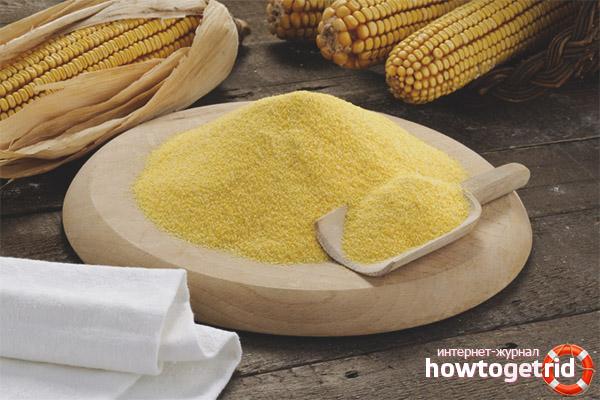 Польза и влияние кукурузной муки на организм