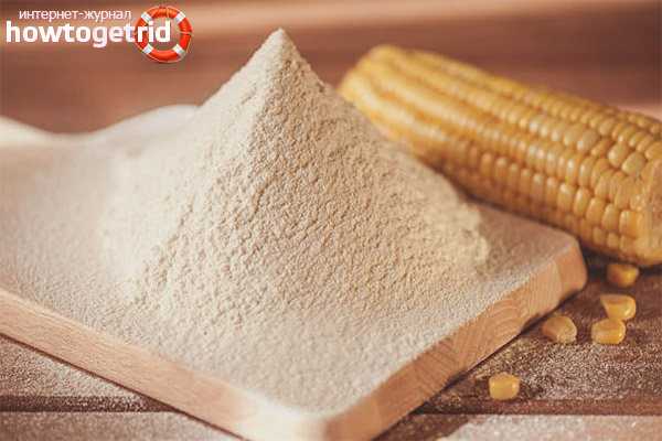 Польза и вред кукурузной муки