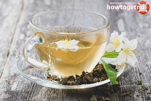 Польза и вред жасминового чая