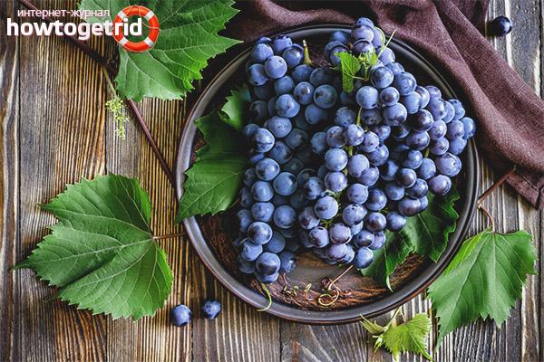 Польза винограда для детей