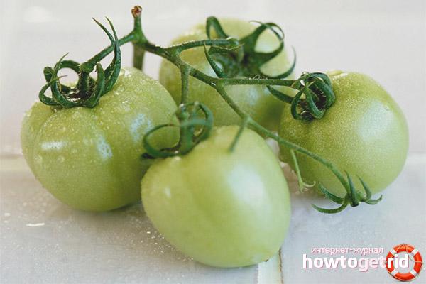 Польза зеленых помидор