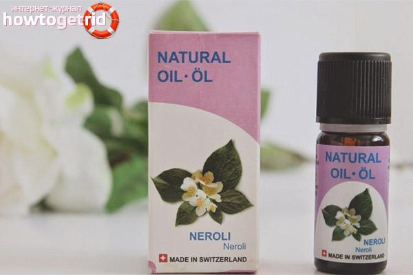 Применение эфирного масла нероли для кожных покровов