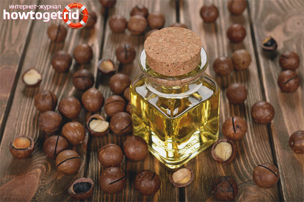 Применение масла макадамии для кожи лица